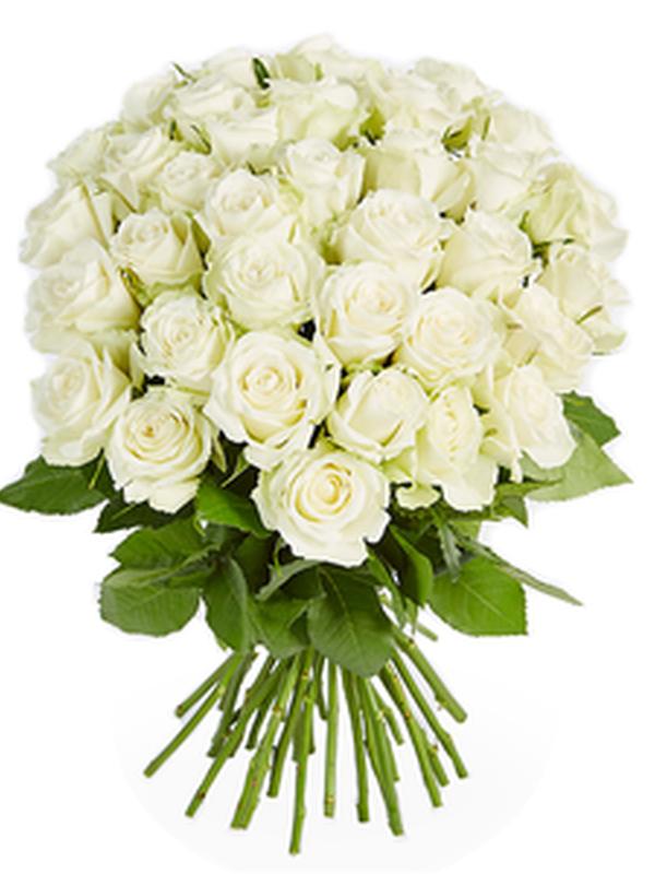 """Boeket """"Witte rozen"""""""